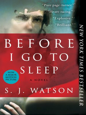 Click this cover for a(n) eBook sample of Before I Go To Sleep
