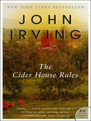 Click this cover for a(n) eBook sample of The Cider House Rules