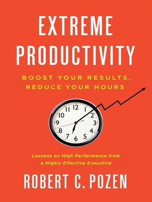 Click this cover for a(n) eBook sample of Extreme Productivity.