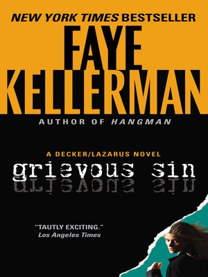 Click this cover for a(n) eBook sample of Grievous Sin