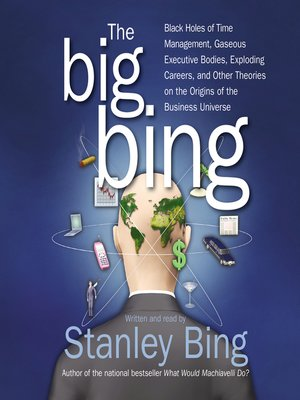 Click this cover for a(n) Audiobook sample of The Big Bing.