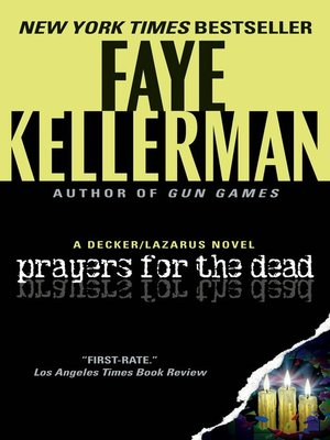 Click this cover for a(n) eBook sample of Prayers for the Dead.