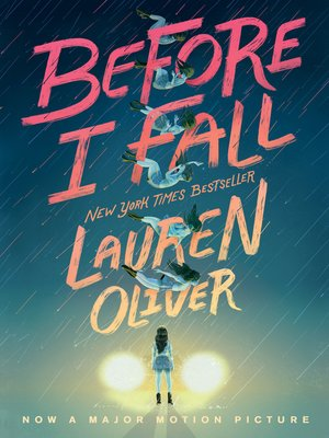 Click this cover for a(n) eBook sample of Before I Fall.