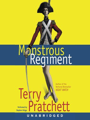 Click this cover for a(n) Audiobook sample of Monstrous Regiment.
