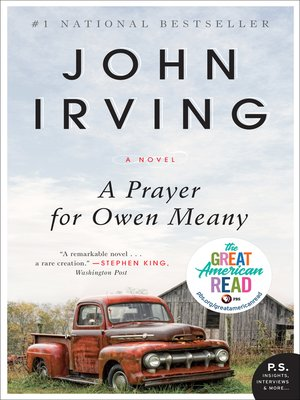 Click this cover for a(n) eBook sample of A Prayer for Owen Meany.