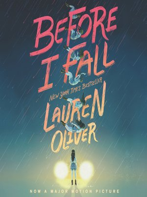 Click this cover for a(n) Audiobook sample of Before I Fall