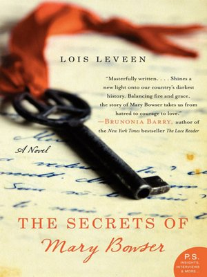 Cover of The Secrets of Mary Bowser