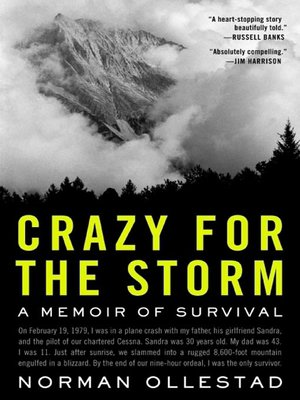 Cover of Crazy for the Storm