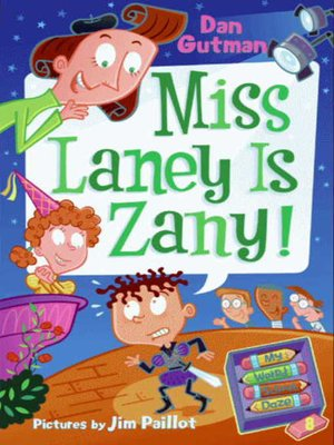 Click this cover for a(n) eBook sample of Miss Laney Is Zany!