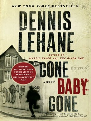 Cover of Gone, Baby, Gone with Bonus Content