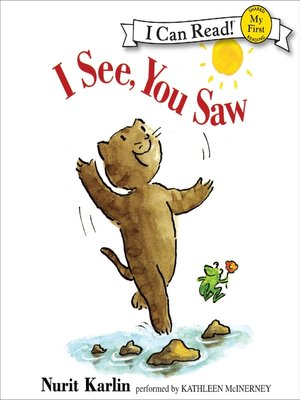 Cover of I See, You Saw