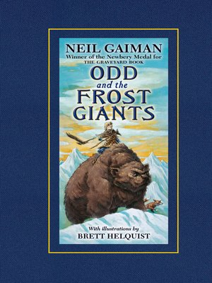 Click this cover for a(n) eBook sample of Odd and the Frost Giants