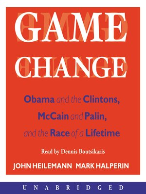 Click this cover for a(n) Audiobook sample of Game Change.