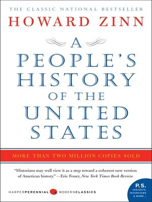 Click this cover for a(n) eBook sample of A People's History of the United States.