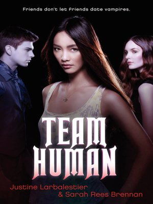 Click this cover for a(n) eBook sample of Team Human
