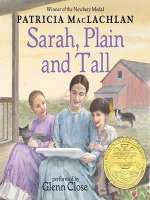 Click this cover for a(n) Audiobook sample of Sarah, Plain and Tall.