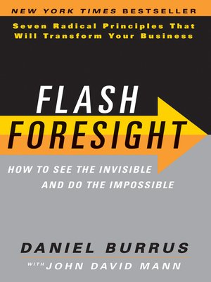 Click this cover for a(n) eBook sample of Flash Foresight.