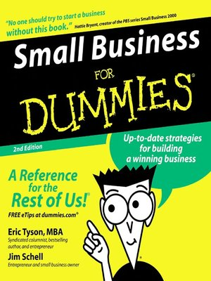 Click this cover for a(n) Audiobook sample of Small Business for Dummies®