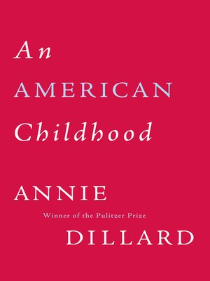 Cover of American Childhood