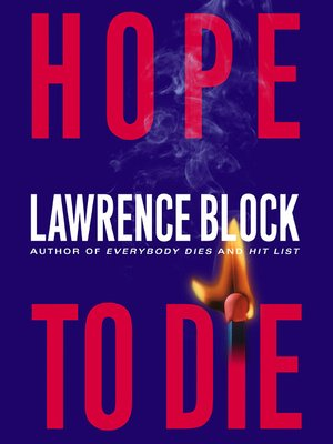 Click this cover for a(n) eBook sample of Hope to Die.