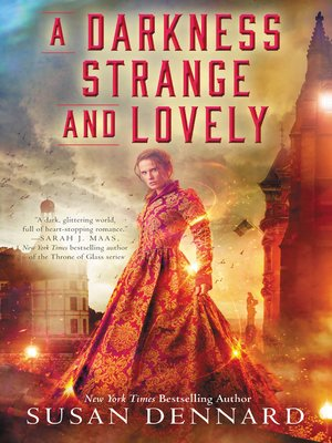 Click this cover for a(n) eBook sample of A Darkness Strange and Lovely