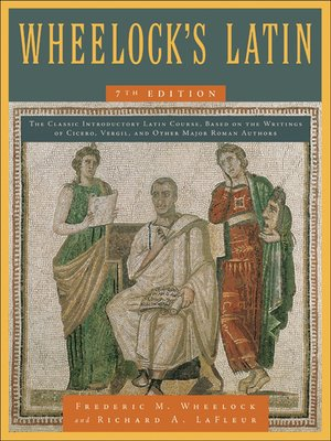 Click this cover for a(n) eBook sample of Wheelock's Latin