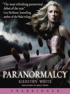 Click this cover for a(n) Audiobook sample of Paranormalcy.