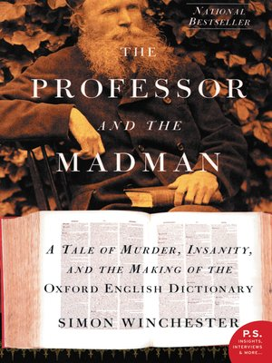 Click this cover for a(n) eBook sample of The Professor and the Madman