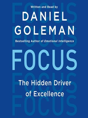 Click this cover for a(n) Audiobook sample of Focus