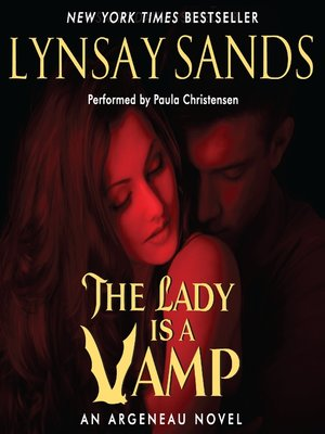 Click this cover for a(n) Audiobook sample of The Lady is a Vamp.