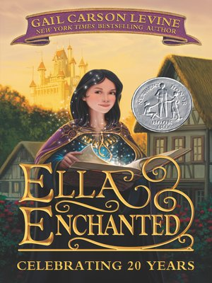 Click this cover for a(n) eBook sample of Ella Enchanted