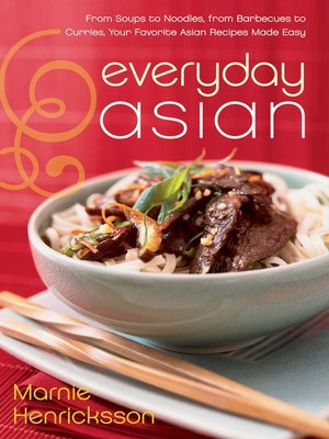 Click this cover for a(n) eBook sample of Everyday Asian