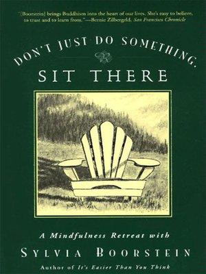 Click this cover for a(n) eBook sample of Don't Just Do Something, Sit There.