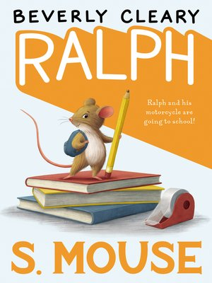 Cover of Ralph S. Mouse