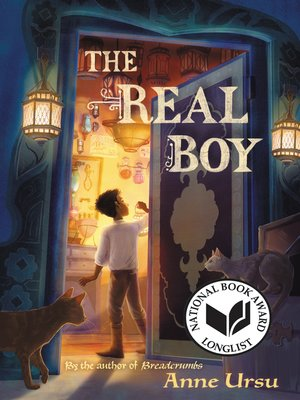 Click this cover for a(n) eBook sample of The Real Boy