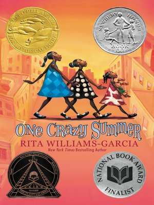 Click this cover for a(n) eBook sample of One Crazy Summer.