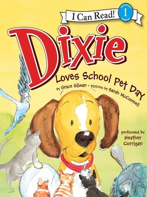 Dixie Loves School Pet Day