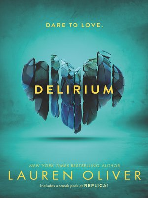 Click this cover for a(n) eBook sample of Delirium