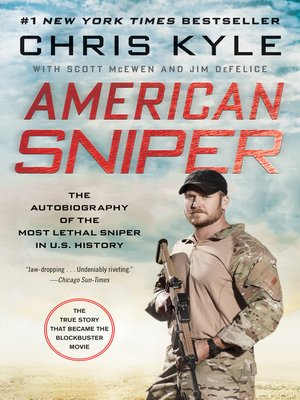 Click this cover for a(n) eBook sample of American Sniper.