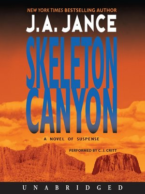 Click this cover for a(n) Audiobook sample of Skeleton Canyon