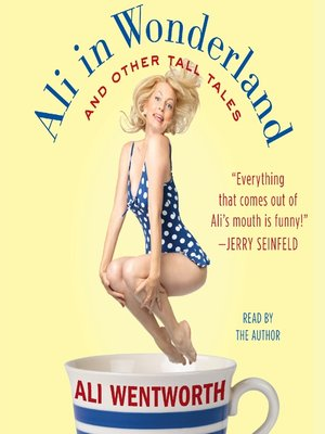 Click this cover for a(n) Audiobook sample of Ali in Wonderland.