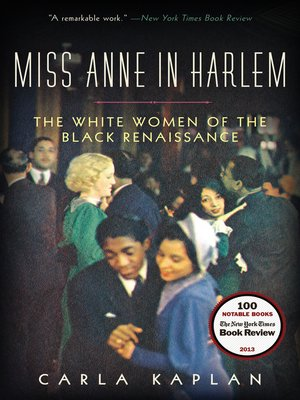Click this cover for a(n) eBook sample of Miss Anne in Harlem.