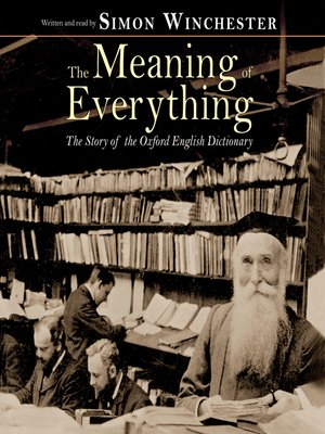 Click this cover for a(n) Audiobook sample of The Meaning of Everything.