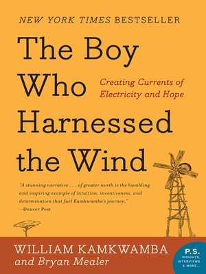 Click this cover for a(n) eBook sample of The Boy Who Harnessed the Wind