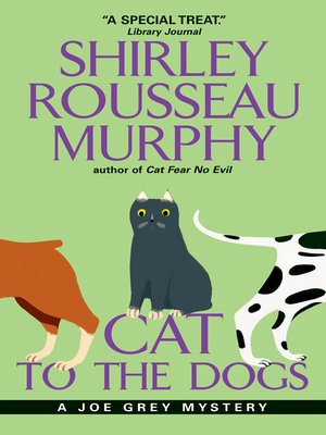 Click this cover for a(n) eBook sample of Cat to the Dogs.