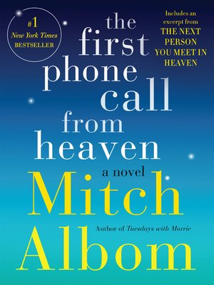 Click this cover for a(n) eBook sample of The First Phone Call From Heaven.