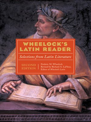 Click this cover for a(n) eBook sample of Wheelock's Latin Reader