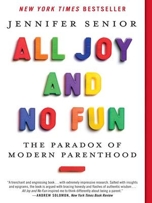 Click this cover for a(n) eBook sample of All Joy and No Fun.