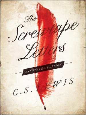 Cover of The Screwtape Letters