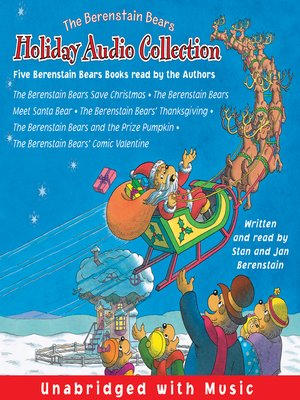 Click this cover for a(n) Audiobook sample of The Berenstain Bears Holiday Audio Collection